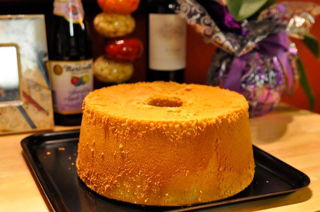 Choosing To Cherish Mocha Chiffon Cake