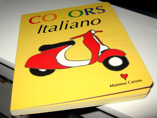 Italian Children's Book: Colors Italiano by Sonya Caruso