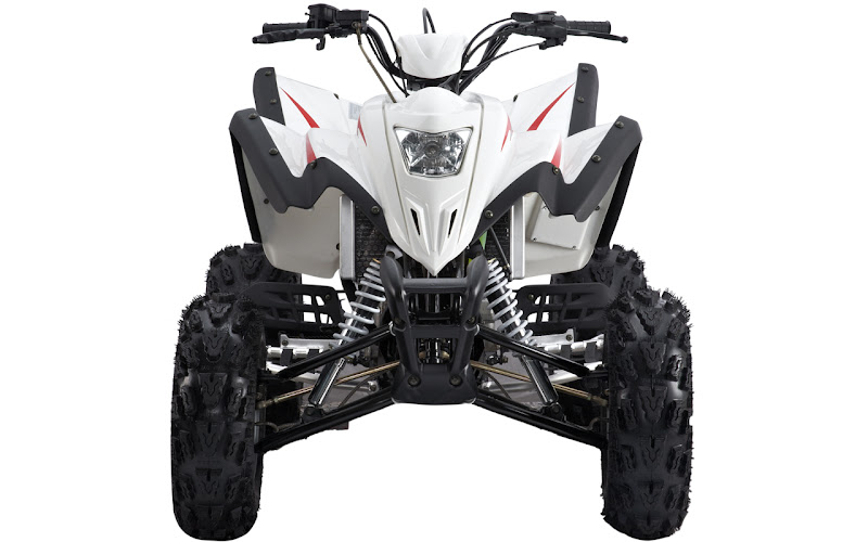 Atomik Feral Hisun 450 Sports Quad with Watercooled Subaru Engine