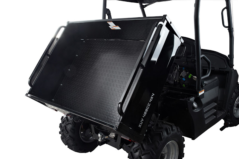400cc 4WD Utility Farm Vehicle Hydraulic Tilt Tray