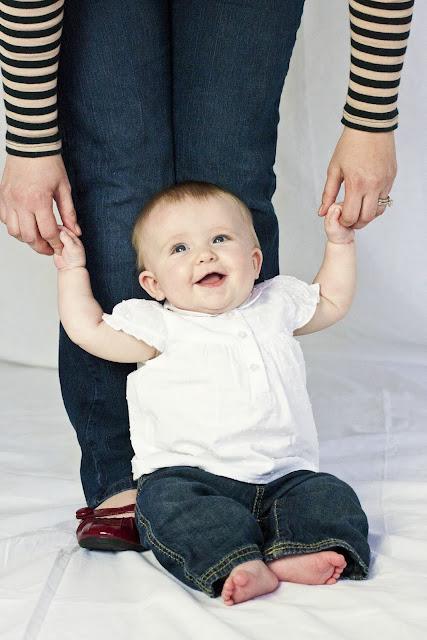 children's portraits 6 month photos