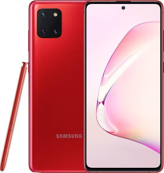 Удобный и стильный корпус смартфона Samsung Galaxy Note 10 Lite