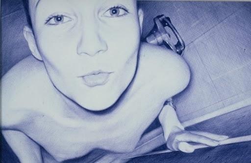 Arte com caneta esferográfica