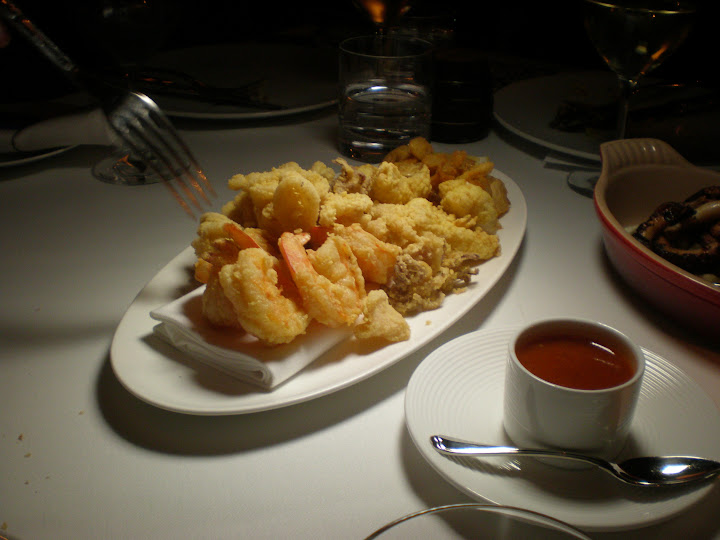 Fritto Misto with pepper conserva
