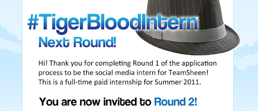 #Tigerblood Intern Rnd2 Invitation