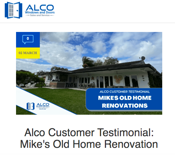 Alco Case Study Mike