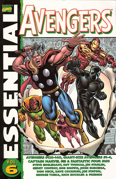 Essential Avengers, v. 6 cover