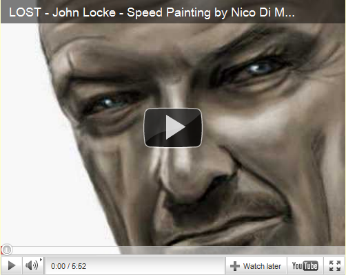 Locke Speed Painting