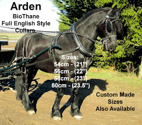 Arden  BioThane English Style Full Horse Collars