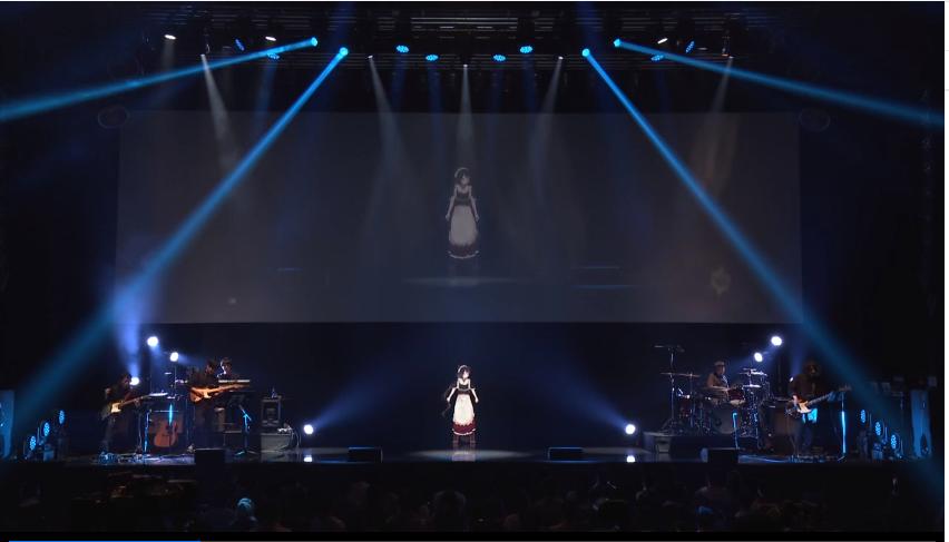 ステージの上にあるモニター  自動的に生成された説明