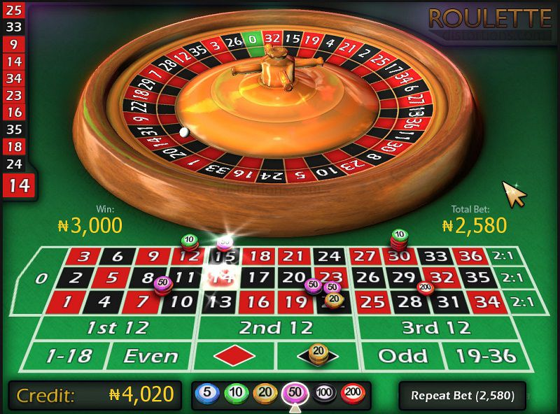 Có nhiều cách chơi Roulette để người chơi tham khảo