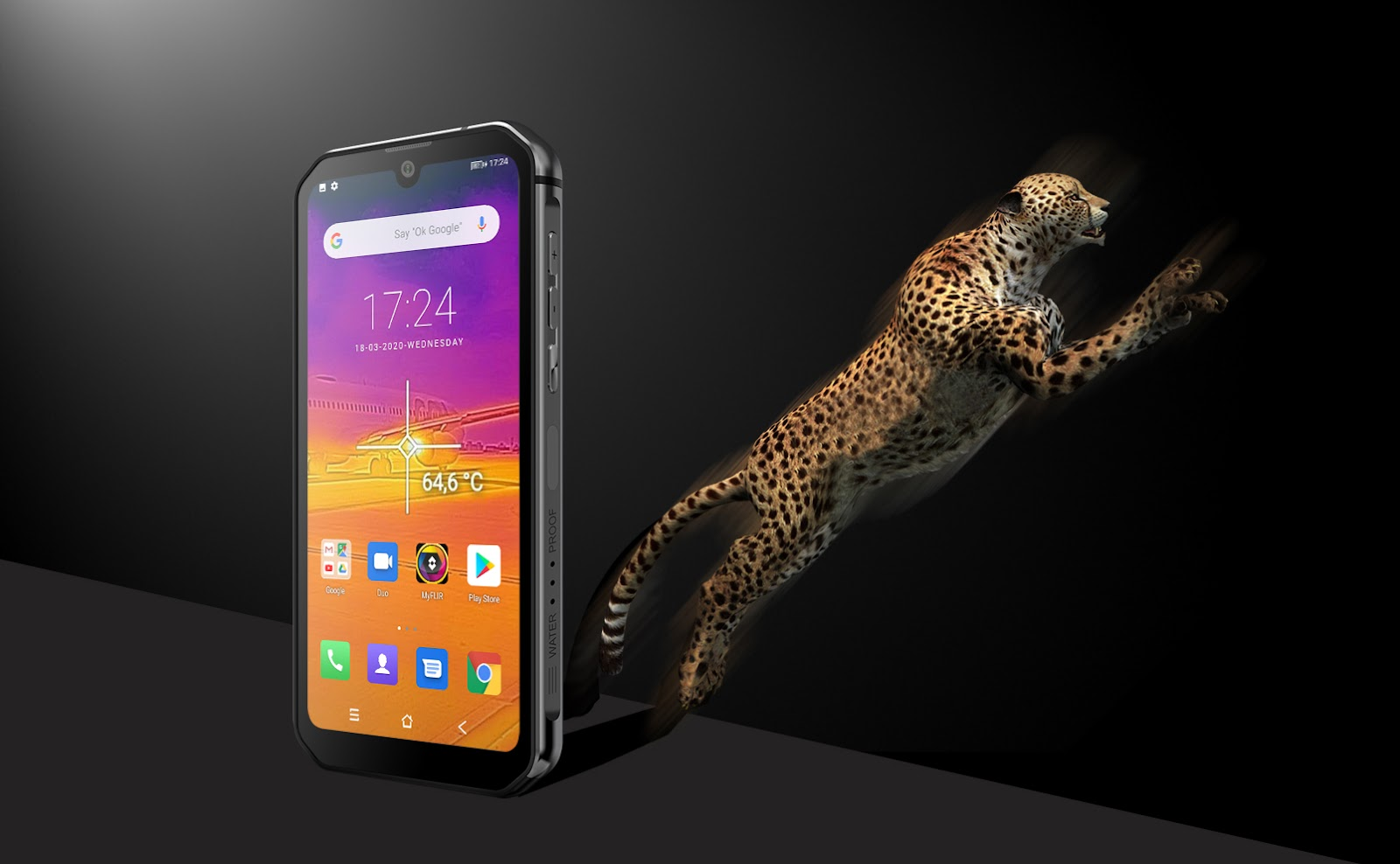 Blackview BV9900 Pro, 4K-capable rugged smartphone with thermal imaging technology