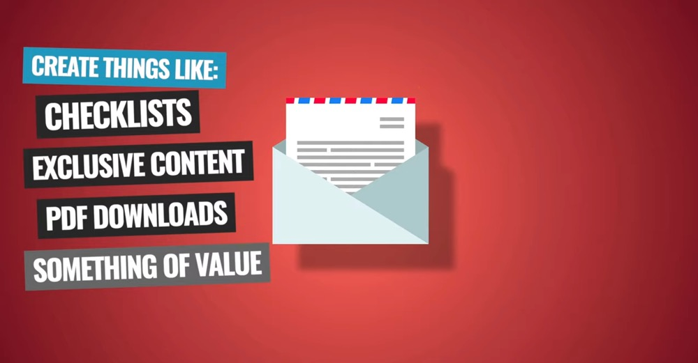 Create content that is of value to your potential subscribers