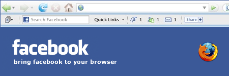 Install Facebook Toolbar
