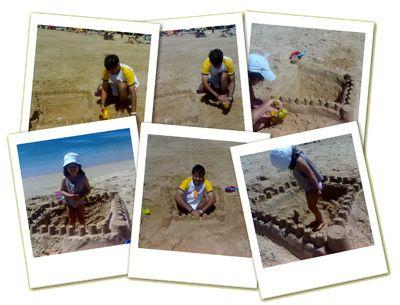 castelo de areia :)