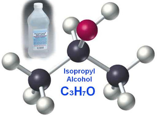 isopropyl alcohol or C3H7O