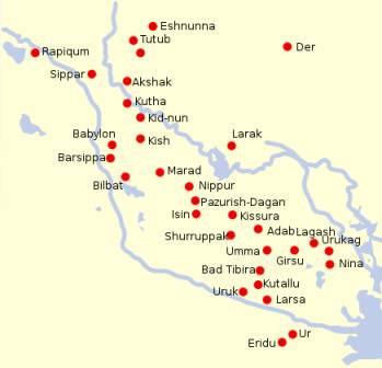 mezopotamia południowa - sumerowie