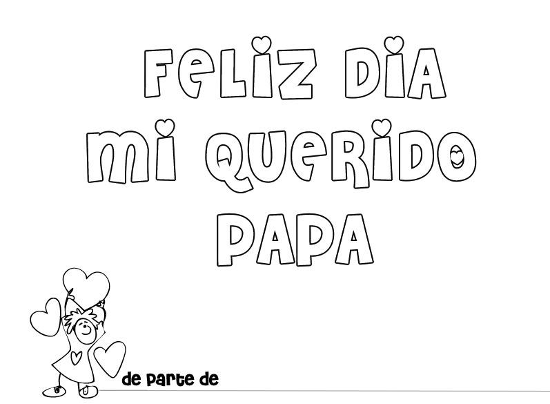 Rinconcito Soleado: 100 Dibujos para colorear ♥ ♥ ♥ Día del padre