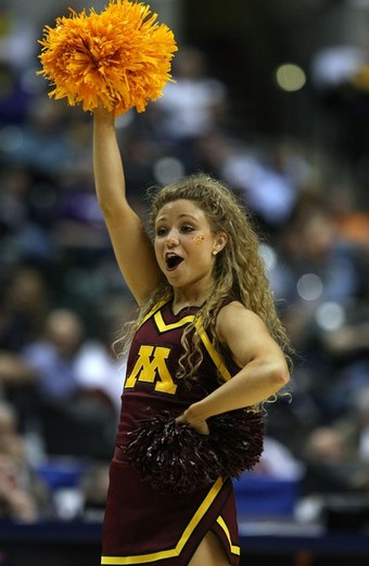 Minnesota Golden Gopher Cheerleaders:Safe For Work,girls games,big girl0
