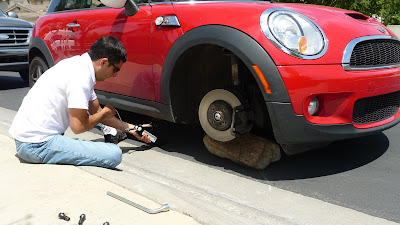 Interior Exterior How To Mount A Spare Tire On Your Cooper S