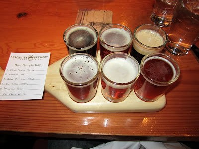 P's Downtown Beer Tour: Stop 1 and 2 of Deschutes and Rogue
