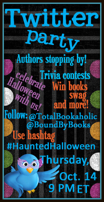 Haunted Halloween: It's a Twitter Party!
