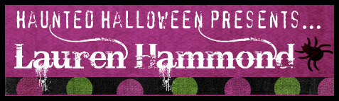 Haunted Halloween with Lauren Hammond and a giveaway!