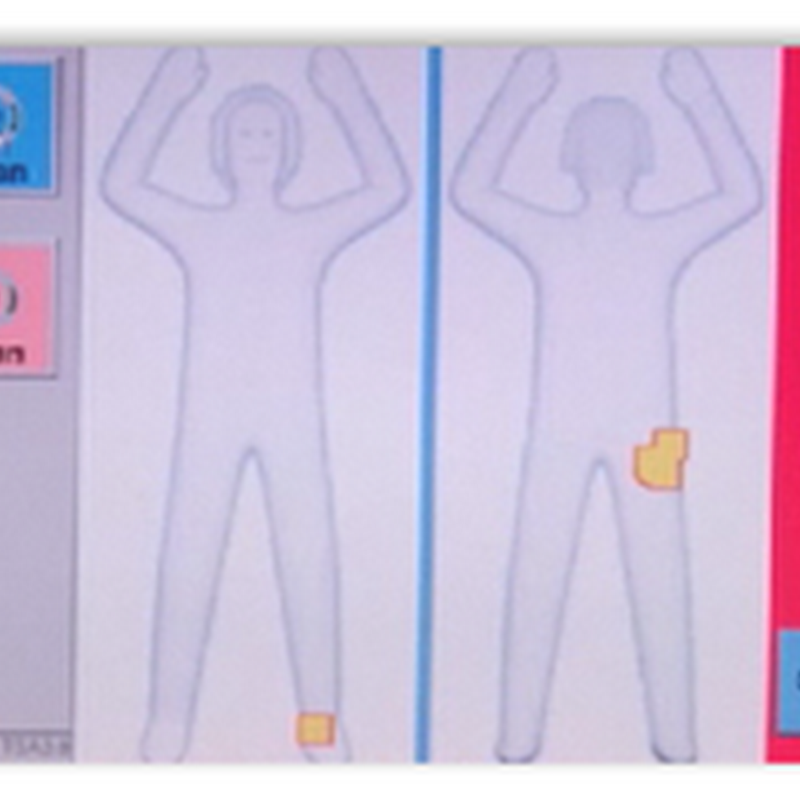 TSA Changing Software at Airport Scanners-New Images Look More Like Stickmen Instead of Medical Images