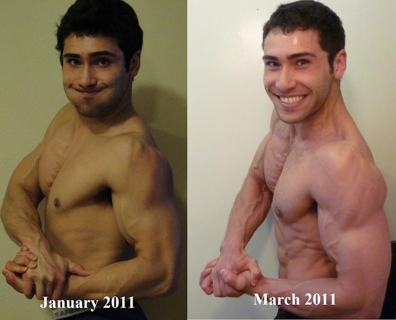 zyzz pre post steroids