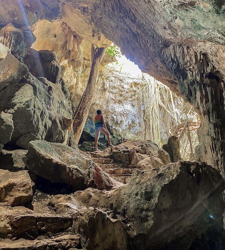 parador turístico xtohil Cuzamá Yucatán