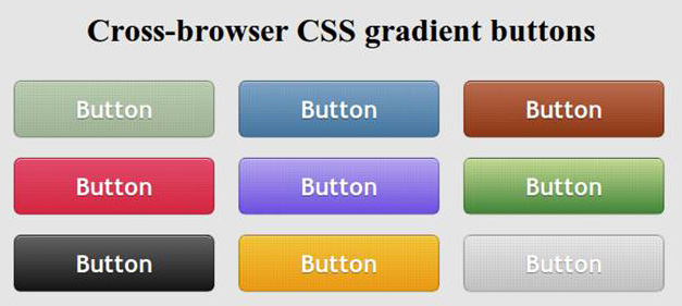 cross1 CSS3 Gradient Button