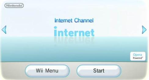Canal de internet de la Wii