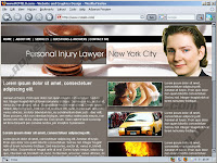 Website Design Study - Personal Injury Lawyer New York