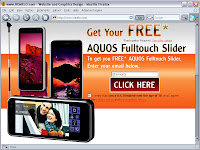 Aquos Cellphone Offer