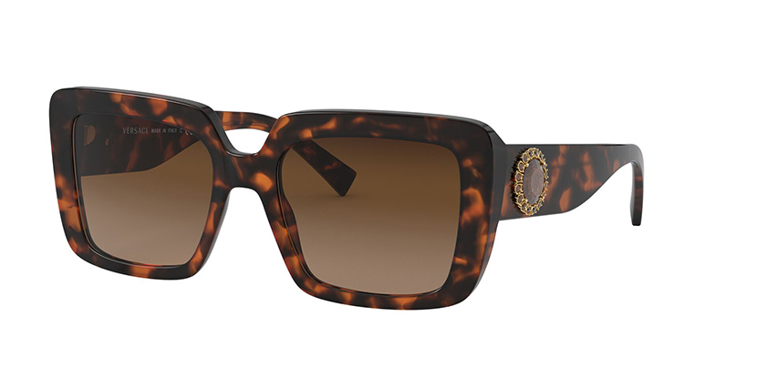 Versace 4384B 944/74 Brown Gradient Sunglasses | Pretavoir
