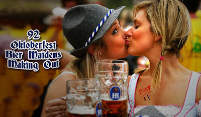 92 Oktoberfest Bier Maidens Making Out:Safe For Work,fun girls0