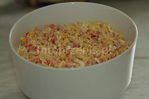 Sałatka z Selerem warzywa szybkie salatki przystawki latwe codzienne  przepis foto