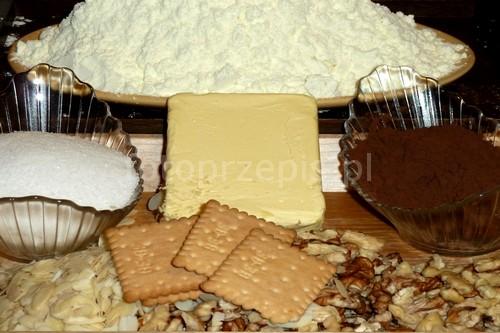Blok czekoladowy swiateczne srednie jednogarnkowe desery  przepis foto