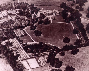 Branches Park, from the air.