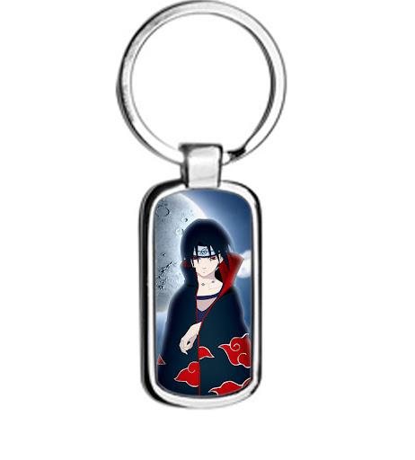 Naruto Uchiha Itachi metal keyring Keychain
