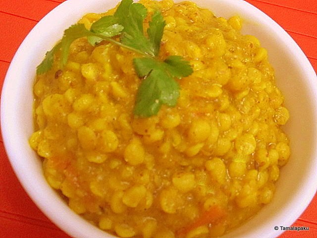 Chana Dal with Tomato