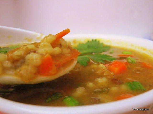 Nourishing Barley Soup