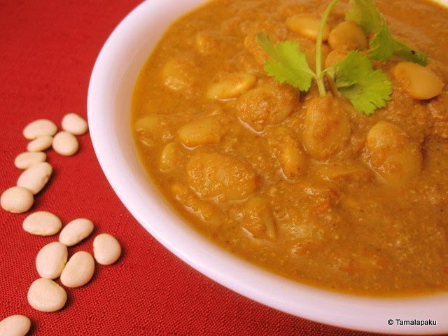 Lima Beans Kurma