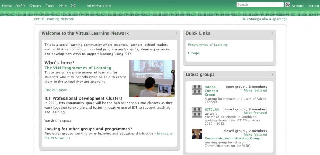 Image result for virtual learning network