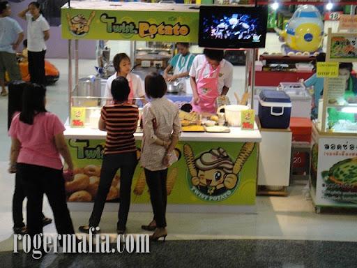 Twist Potato ที่ Food Park @ Big-C ราชดำริ