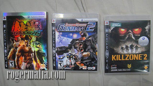 Tekken 6, Dynasty Warrior Gundam 2, Killzone 2
