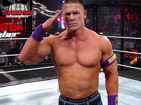 WWE Elimination Chamber 2011 Results John Cena Won and going to WrestleMania