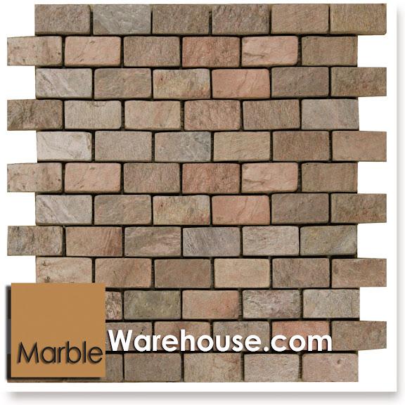 copper slate tile stone mosaic sheet for flooring backsplash ebay