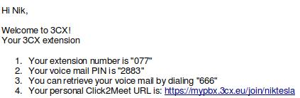 Ejemplo de URL Click2Meet Personalizado