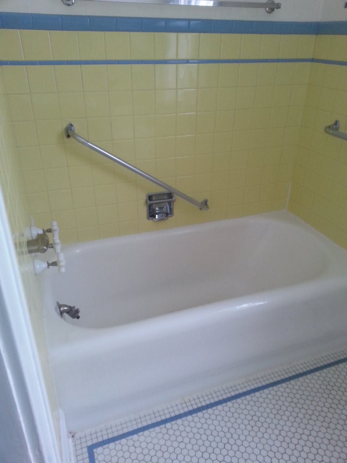 vintage bathroom in a madison wi home for sale